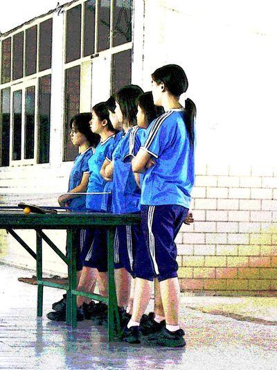 SMA Trinitas People Check This Out School Girl