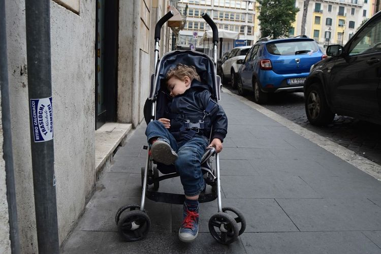 Rome, Italy Boy Annoyed Streetphotography Rome Italy No Filter Red Laces Red Detail Traveling Tourist City Life Simplicity Urban Geometry Everyday Life
