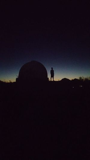 Silhouette Sky Night Dark Nature One Person Beauty In Nature Outdoors Star - Space Astronomy Standing Miles Away