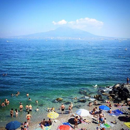 Pozzano Beach Mare Sea vesuvio costieravesuviana costierasorrentina estate2014