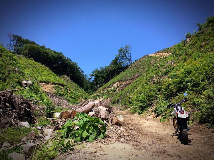 バイク ツーリング 林道 Motorcycles Trip
