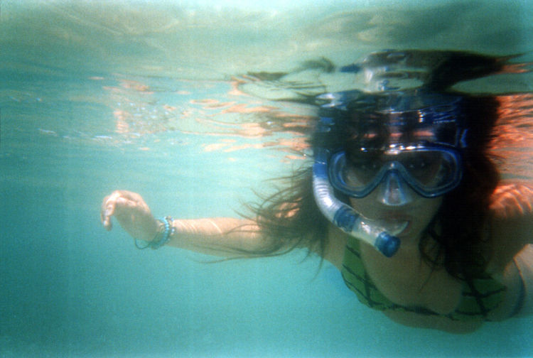 Beautiful Bikini Blue Bubble Camera Color Fun Girl Love Mask Me Old Person Photo Photography Portrait Sea Summer Swim Swimming UnderSea Underwater Vintage Water