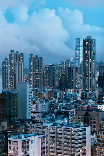 Apartment Architecture Building Building Exterior Built Structure City Cityscape Cloud - Sky Crowd Crowded Financial District  High Angle View Landscape Modern Nature Office Building Exterior Outdoors Residential District Settlement Sky Skyscraper Tall - High Urban Skyline The Architect - 2018 EyeEm Awards
