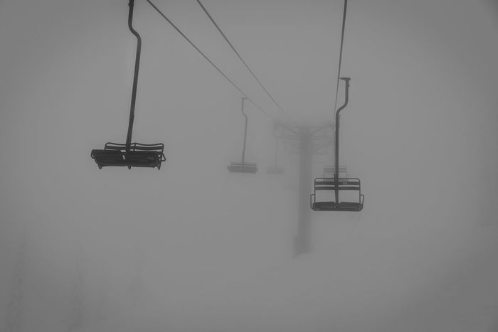 Canada Skiing Snowboarding First Eyeem Photo Eye4photography  EyeEm Best Shots Winter Blackandwhite Shades Of Grey My Winter Favorites It's Cold Outside Mysterious Mystery Chairlift