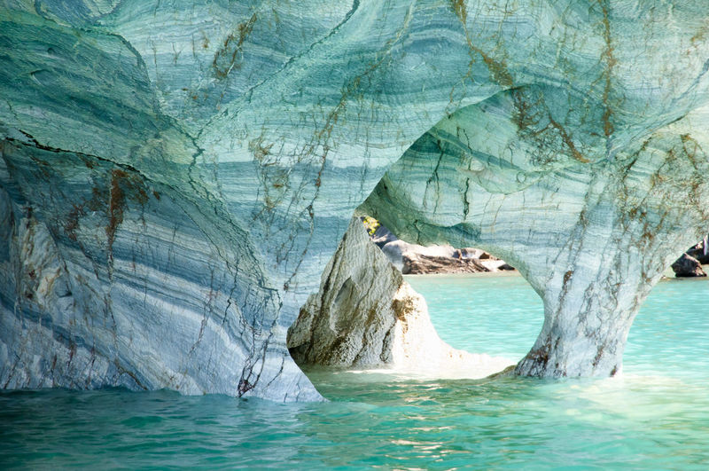 Marble Caves - Carrera Lake - Chile Chile Carrera Lake Cave Marble Marble Caves Nature Patagonia Rio Tranquilo Turquoise Water