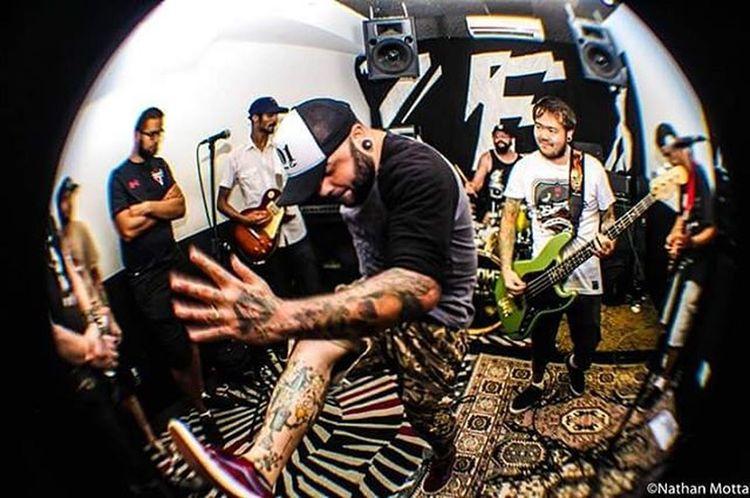 @jerseysband - Estúdio Warzone, Santos, SP. (04/02.2016) Show Jerseys Hardcore Fotohrafia Fisheye Warzone 2step