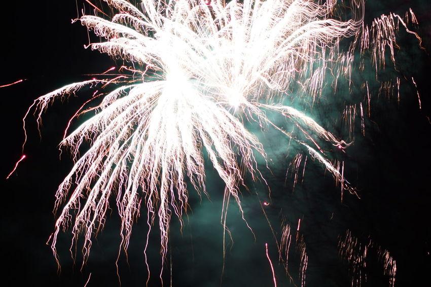 Exploding Firework Display Celebration No People Outdoors Firework Night Dark 2017 🍾🎇🎉❤ Sony A-68 2017 2017 New Year Celebration