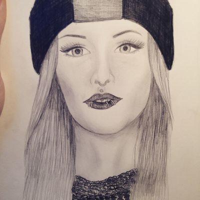 Try To  Draw Jenniferweist Jennifer Weist Bit  Wrong Black And#white#blackandwhite