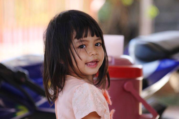 EyeEm Selects Portrait Child Smiling Childhood Happiness Girls First Eyeem Photo