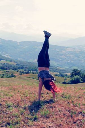 Wind Freedom FreeTime Atletic Girl Mountain Nature Hello World Summertime Love It