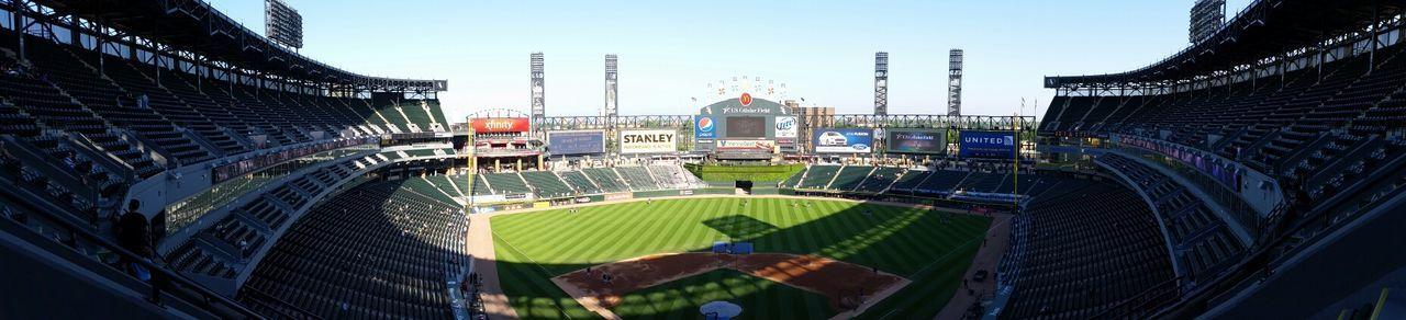 Chicago Comiskey Park White Soxs
