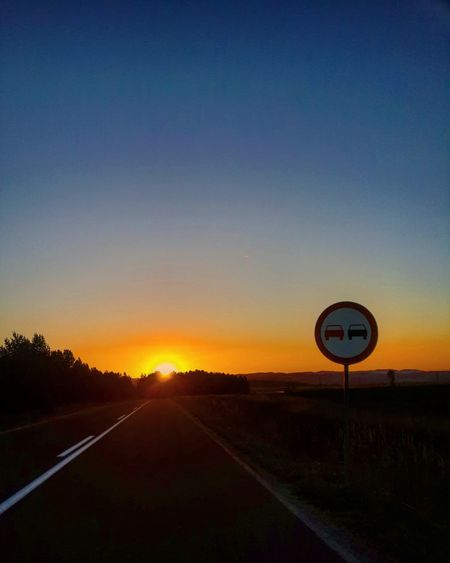 Sunset Nature Sky Beauty In Nature Scenics Road Tree No People Vacations Outdoors Technology Clock Day Motorsport Fromthecar My Smartphone Life Sjenica Shiny Sun With Friends Landscape Out Of Town The Great Outdoors - 2017 EyeEm Awards Sommergefühle