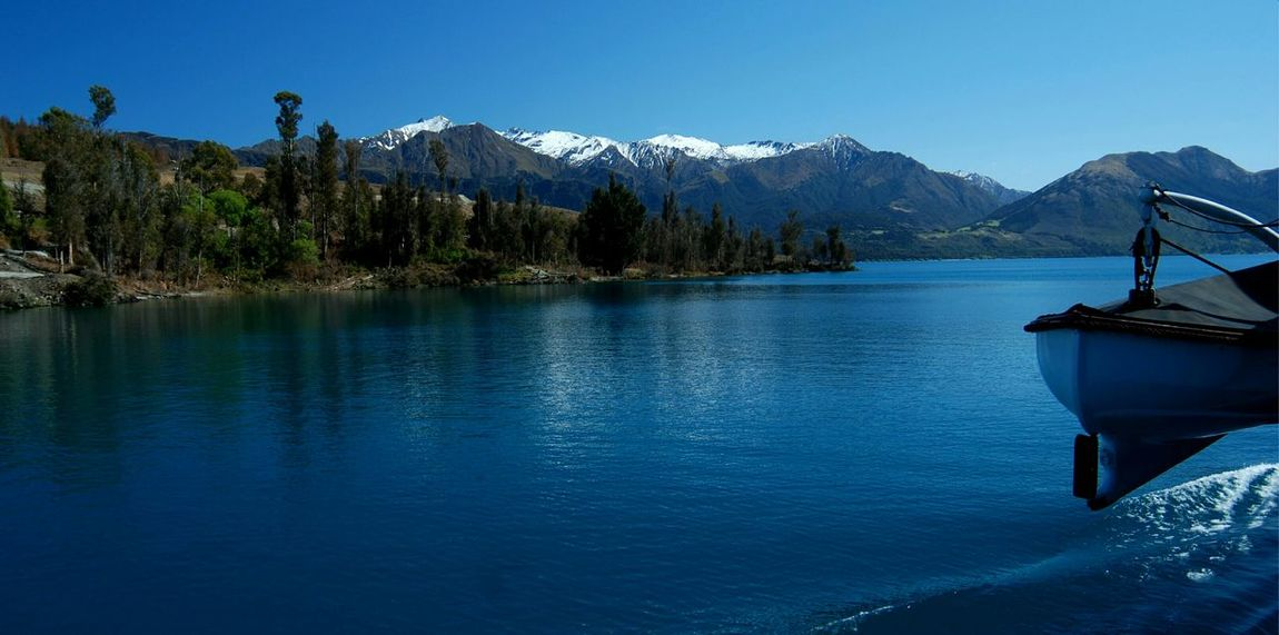 lake wakatipu Newzealand Lake View Mountain View Amazing View Snowmountains Traveling On My Way Enjoying Life Relaxing Beautiful Sky Travel Photography Queenstown Naturelovers October2015 On The Water On The Ferry Steamboat Tss