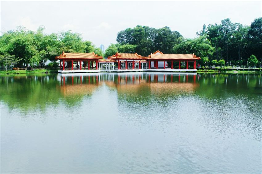 Singapore Outdoors No People Lake Travel Destinations Vacations Nature