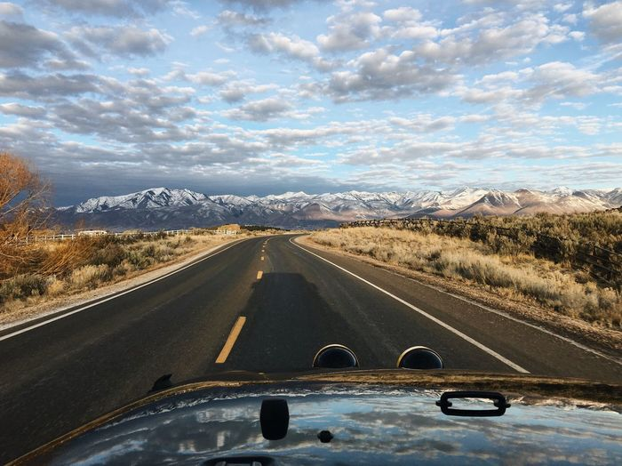 the clouds of march 13th. Wasatch Back Wasatch County Utah Country Road Road Cloud - Sky The Way Forward Landscape Transportation Sky Scenics