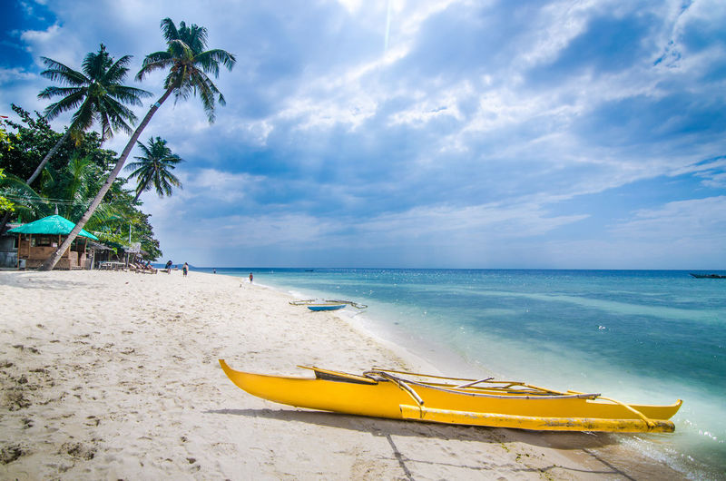 White beaches in Cebu Island, Philippines ASIA EyeEm Best Shots EyeEm Nature Lover EyeEm Selects EyeEmNewHere Nikon Philippines Beach Beauty In Nature Day Horizon Over Water Kayak Nature Nikonphotography Palm Tree Sand Scenics Sea Sky Tranquil Scene Tranquility Tree Vacations Water Yellow