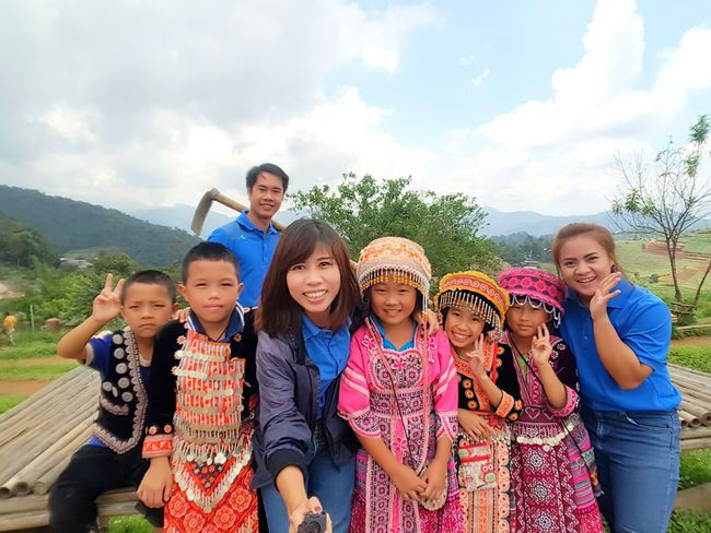 Child Portrait Looking At Camera Boys Girls Childhood Outdoors People Men Nature Togetherness Back To School Adult Day Moutain Nature Art Photography Beautiful Woman Chilling Children Photography North Thailand_allshots Thailand Monjam
