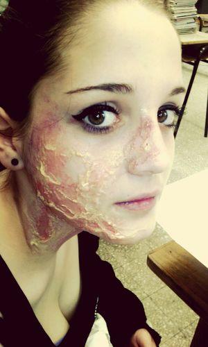 Backstage Film Makeup