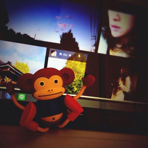 Enjoying Life Monky EyeEm I❤Bananas 今日も一日頑張ろう‼︎*\(^o^)/* ウキっ(^^;;