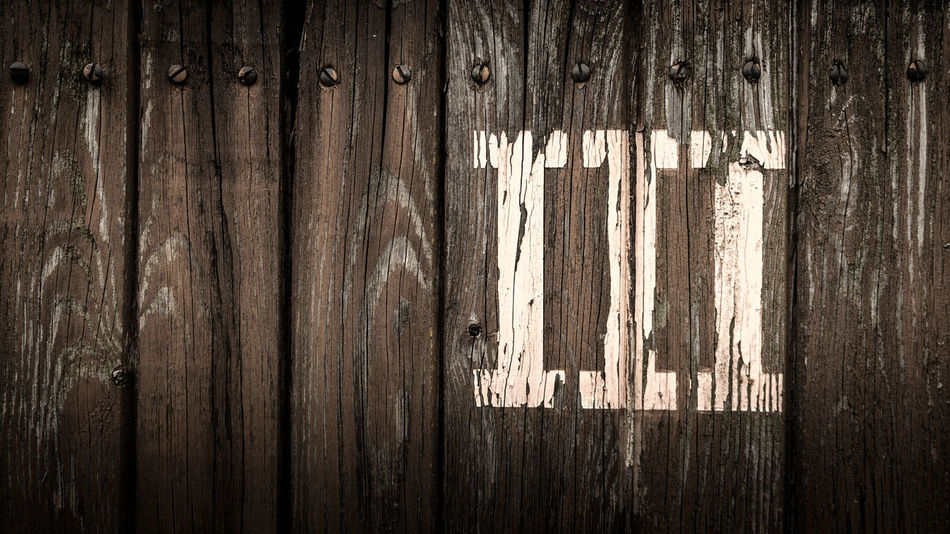 III Color Colors Of Autumn Copy Space EyeEm Best Shots III Old-fashioned Retro Text Backgrounds Brown Close-up Full Frame Number Old Pattern Plank Screw Sign Text Textured  Wall - Building Feature Wood Wood - Material Wood Grain Wood Paneling
