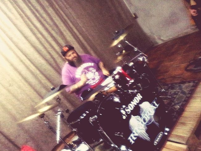 Diego from Inmortal Drummer Drums Musician Rock Brother Argentina