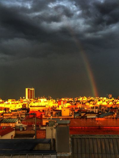 Hello World Enjoying Life Taking Photos Relaxing Home Skyline Sky Rainbow
