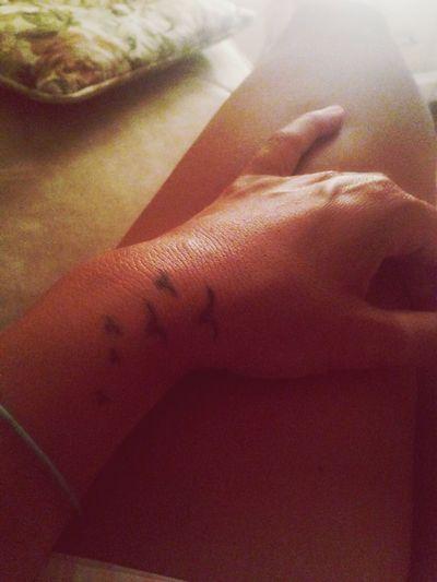 Tattoo Relaxing My Tat