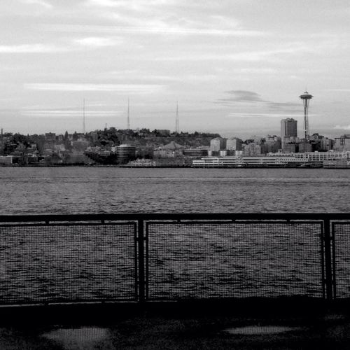 Seattle, Washington Seattle Ferry Sea Seattle Space Needle Ferry