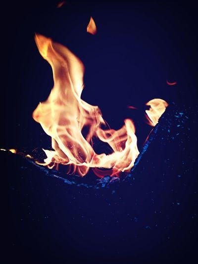 Having A Fire