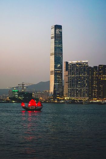 Harbour Cruise Cruise Aqualuna Discoverhongkong Architecture Built Structure Skyscraper Building Exterior Travel Destinations City Urban Skyline Sky Sea Waterfront Water Modern Outdoors Transportation Cityscape Clear Sky No People Nature Day