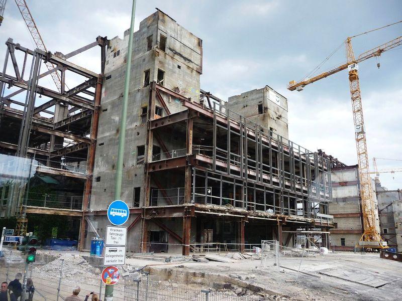 GERMANY🇩🇪DEUTSCHERLAND@ 2008 May Building Berlin Mitte Construction