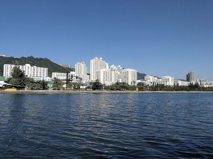 Waterfront in sha tin
