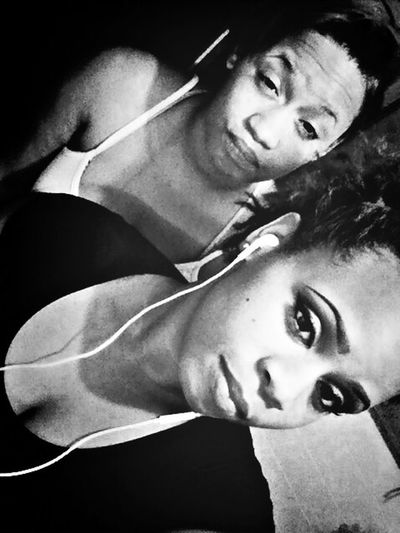 Me and my twin look nothing alike whatsoever but we still cute tho Cuties <3