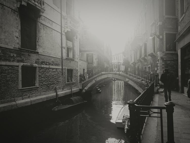 Venice, Italy Venice Being Creative Blackandwhite City Cityscapes Shillouette Old Town When You Stand Part Of History Walking Around