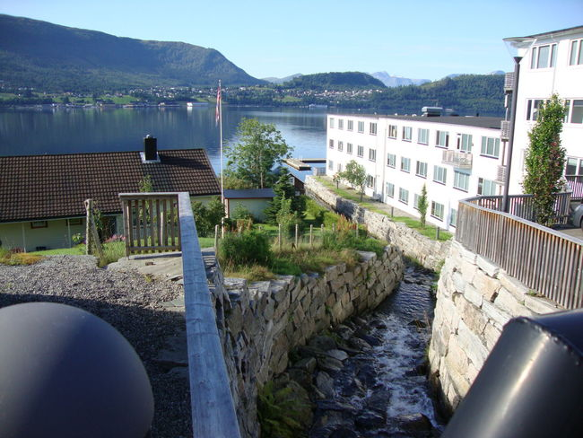 Fjord Geiranger Geirangerfjord Harbor Nature Norway Scandinavia Visitnorway