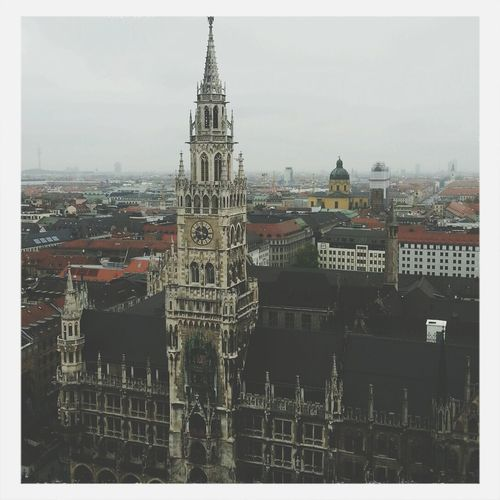 I'm in love with this city ?? München City Landscape