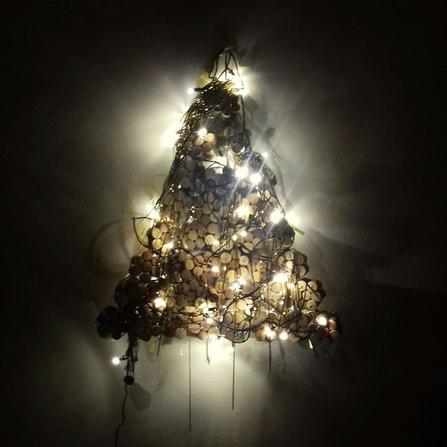 Christmas Christmas Tree No People Night Illuminated Celebration Christmas Decoration Christmas Lights Close-up Outdoors Tree Perspectives On Nature Celebration Christmas Cold Temperature Decoration Christmas Lights Recycling! Home Decor Home
