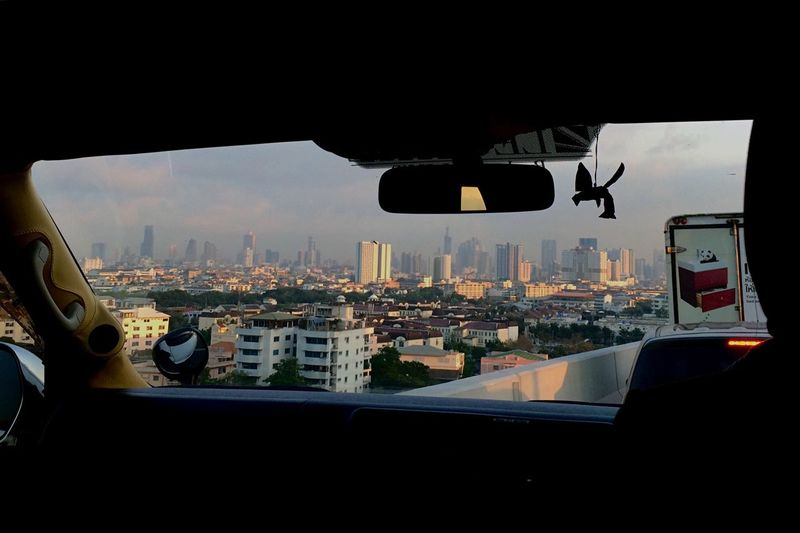 On The Road IPhoneography City Thailand Tower Goodmorning Cityscapes