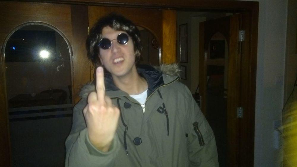 Oasis Liam Gallagher Fancy Dress Bad Boy  Drunk