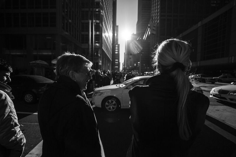 The Street Photographer - 2016 EyeEm Awards New York Streetphotography Blackandwhite Black & White Blackandwhite Photography Up Close Street Photography United States Mother & Daughter Feel The Journey Monochrome Photography MonochromePhotography The Street Photographer - 2018 EyeEm Awards