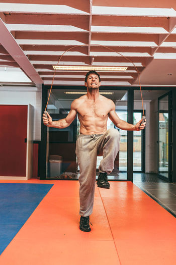 professional stuntman and actor Olivier Bisback on training Athletic Body & Fitness Famous Rope Sportsman Stuntman Wellness Attractive Bodyart Cardio Cord Energy Drink Fitness Gym Healthy Eating Jump Rope Jumping Muscles Sports Stamina Strength Strong Training Urban Landscape Workout