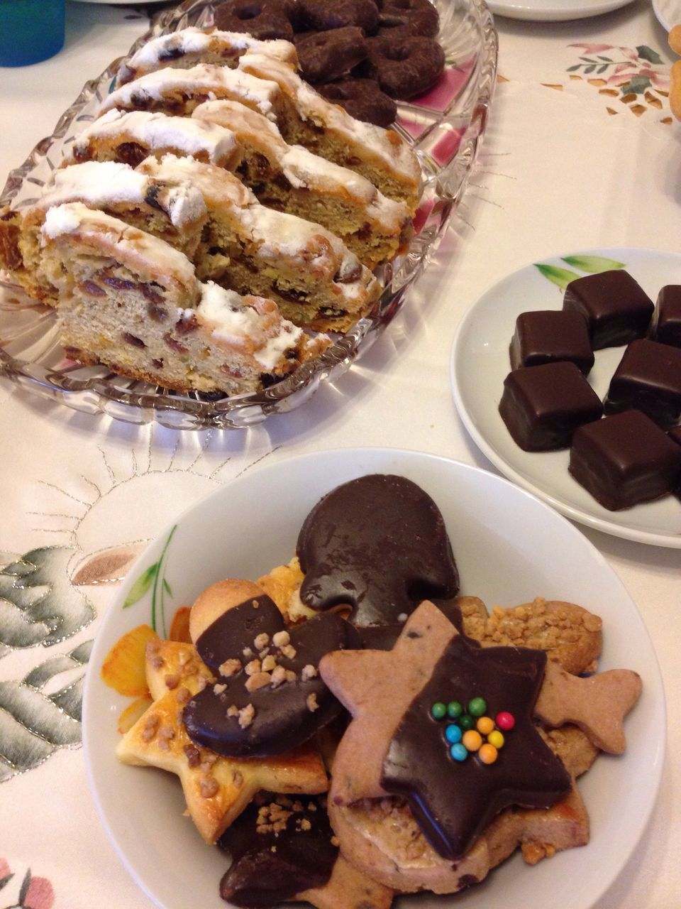 food and drink, food, indulgence, ready-to-eat, temptation, still life, indoors, plate, freshness, table, sweet food, serving size, high angle view, no people, unhealthy eating, close-up, dessert, bread, celebration, slice, appetizer, day