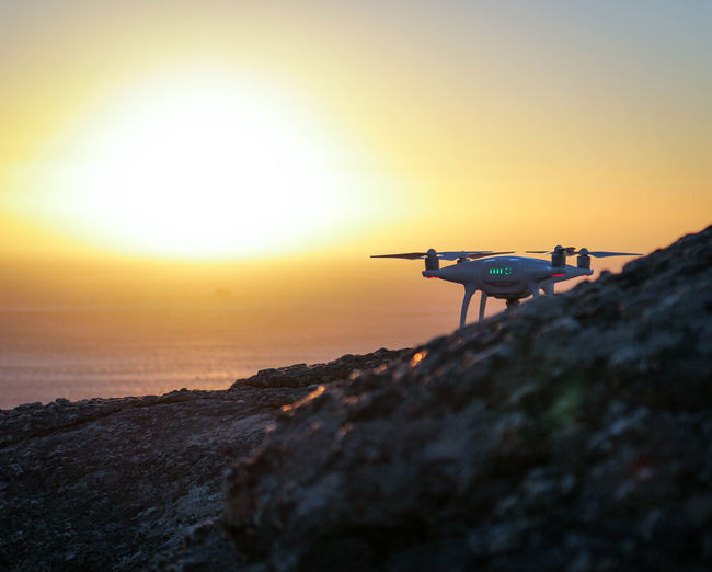 Aerospace Industry Camera - Photographic Equipment Day Drone  Drone  Dronephotography Nature No People Outdoors Sea Sky Sunset Technology