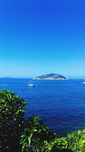 Urca Rio de Janeiro Blue Tranquility Outdoors Horizon Over Water Nature Beauty In Nature