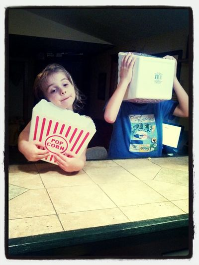 mmmmmmm We love popcorn. nom nom nom