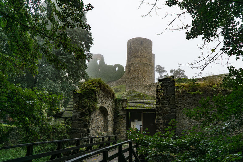 Hrad Helfenburk, Chez Republic Architecture Building Exterior Built Structure Castle Chez Republic Cultures Day History Hrad Helfenburk No People Old Ruin Outdoors Sky Travel Destinations Tree