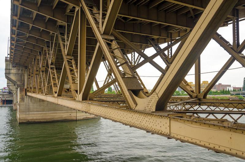 Burnside bridge over river
