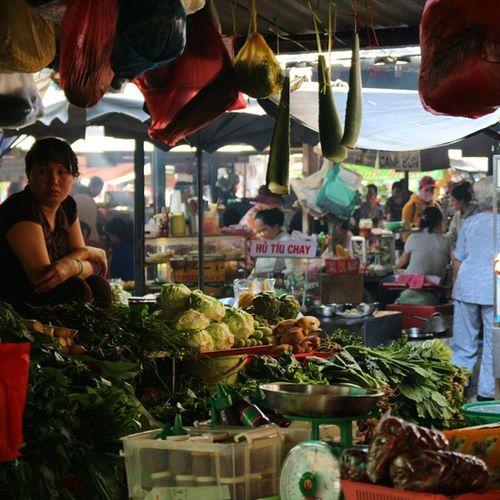 Market Market Markets Travel Travelingram Travelgram Traditional Hcmc Hochiminhcity Saigon Nofilter Vietnam Stall Vegetables BBCTravel Worlderlust