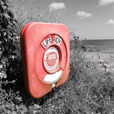Beachphotography Communication Water Sea Outdoors Life Is A Beach Life Saver Low Tide