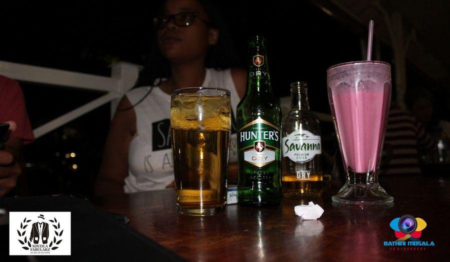 Drinks with the team Drinks Savanna Milkshake HuntersDry